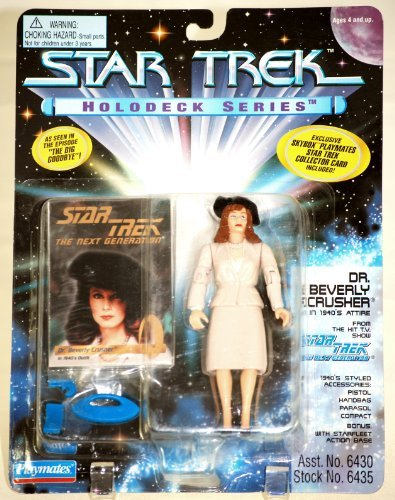 Holodeck Series (Star Trek Holodeck Series Dr. Beverly Crusher in 1940s Attire 1995)