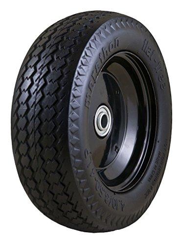 Solid Polyurethan (Marathon Flat Free Hand Truck & Utility Tire 4.10 / 3.50 - 4 Solid Polyurethane by Marathon Industries)