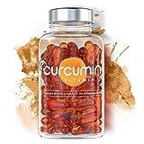 Premium Kurkuma Kapseln | Kurkumin Extrakt Hochdosiert mit Vitamin D3 | NovaSOL Curcuma für Knochen, Gelenke, Muskeln & Immunsystem | Entzündungshemmende Wirkung | 100% Natürliche Inhaltsstoffe