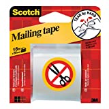Scotch Tear by Hand Packaging Tape - Clear - 48mm x 16m