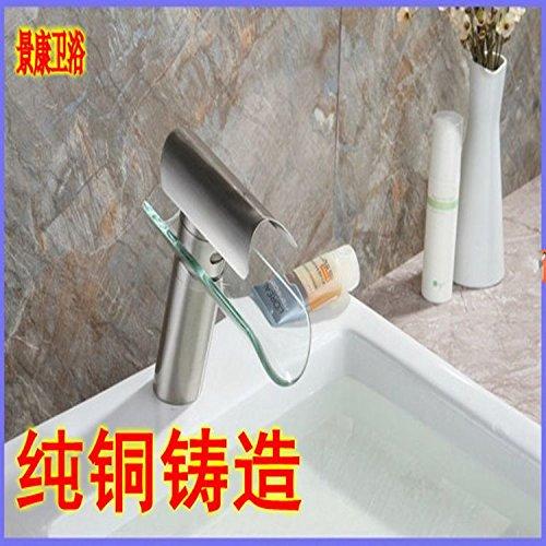MEICHEN-Design creativo cucina bagno rubinetto lavaboSpazzolato di piastrelle di alta qualità in ottone solido vasca (Bronzo Bagno Piastrelle)