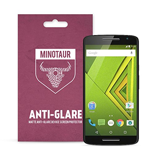 Motorola Moto X Underscore Schutzfolie, Minotaur Matte Anti-Blendung Displayschutzfolie (6 x Displayschutzfolien)
