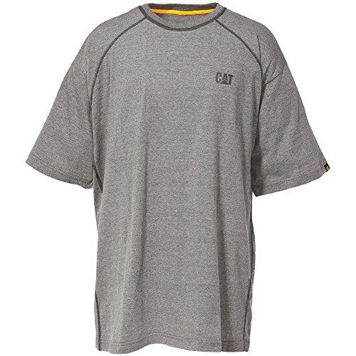 Caterpillar Mens Performance T Shirt Grey Heather