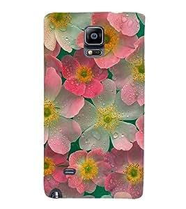 FUSON Abstract Floral Background 3D Hard Polycarbonate Designer Back Case Cover for Samsung Galaxy Note 4 :: Samsung Galaxy Note 4 N910G :: Samsung Galaxy Note 4 N910F N910K/N910L/N910S N910C N910Fd N910Fq N910H N910G N910U N910W8