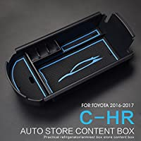 LFOTPP C-HR NGX50 ZYX10 Auto Styling Handschuhfach Armlehne Aufbewahrungsbox Blau