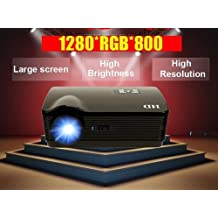 Gowe 4500 Lumen 1080P 220W WiFi, Android 4.2.2, Lampada Smart led per home theater DBPOWER-Video proiettore 3d Full HD Video femmina-TV