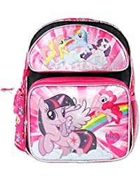 Preisvergleich für 13' My Little Pony Black Backpack with 5 Ponies on the Front by My Little Pony