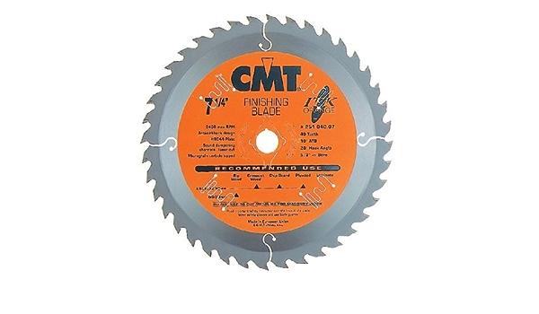 18 denti arancio CMT Orange Tools 271.136.18H-Sega circolare ultra itk 136 x 1.5 x 20