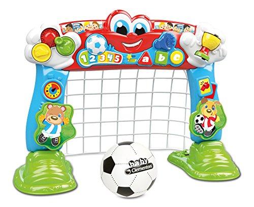 Baby Clementoni 17200Streifen und Segna spitzentorschützen–Fußball Tornetz (Italienische Version)