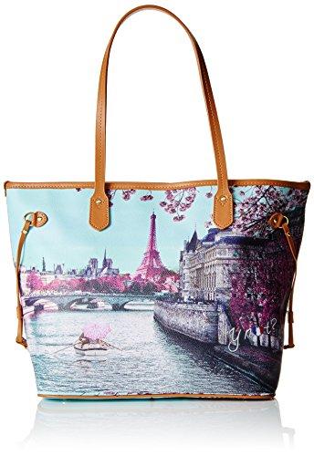 Y NOT? Shopping M, sac bandoulière Multicolore (Paris Seine)