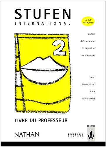Stufen, niveau 2. Livre du professeur