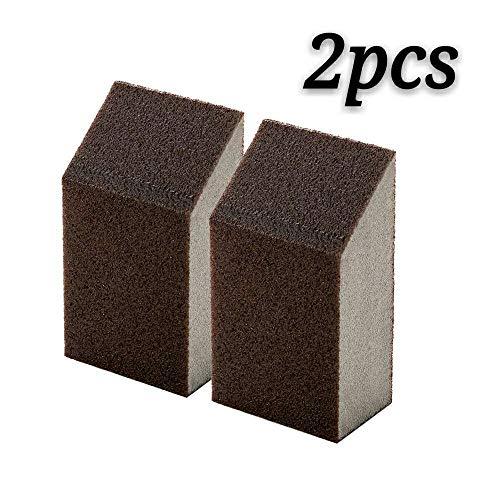 2Reinigung Scrub Schwamm, Radiergummi Scheuerschwämmen Verwendung für Schrubben Küche, Badezimmer, Töpfe, Pfannen, Waschbecken und etc. (4x 2,5x 7cm)