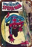 Wise Degree Metal Poster The Spectacular Spiderman # Comic en MšŠtal Mur De Cuisine Art CAFšŠ Garage Boutique Bar DšŠcoration