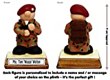 PERSONALISED Soldier – the perfect present / gift for that special infantry man serving in Her Majestys British Army / Military ! Retirement / Passing Out / Graduation / Birthday / Fathers Day / Recruit (Gift Boxed) – Kerr Characters