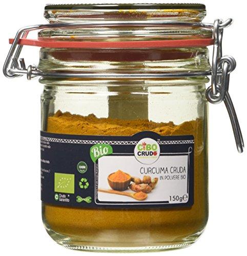 Cibocrudo Curcuma Cruda in Polvere - 150 gr