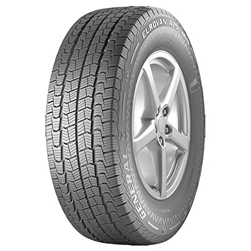 Kit 4 pz pneumatici gomme general tire eurovan as 365 195/75r16c 107/105r tl 4 stagioni