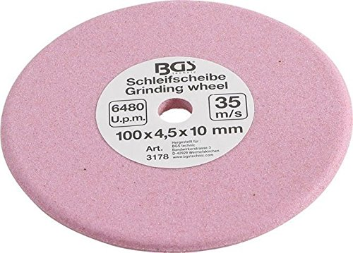 Schleifscheibe 100x4,5x10mm für Sägekettenschärfgerät