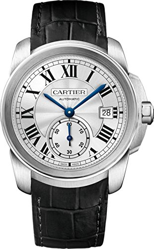 a3d63e30d7c0 Cartier Calibre wsca0003 Acero Inoxidable automático reloj para hombre