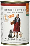 defu Bio Hundfutter High Sensitive Rind Menü, 12er Pack (12 x 410 g)