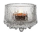 Iittala 1024279 Ultima Thule Windlicht, Glas, Transparent, 8.6 x 8.6 x 6.5 cm