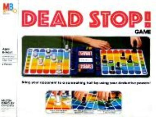 Dead Stop Milton Bradley by Board Games - Deduction Games Milton Bradley