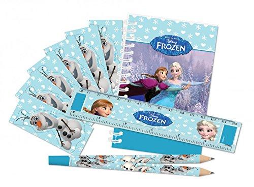 """Kindergeburtstag Frozen """"Die Eiskönigin"""" Gastgeschenke Mitgebsel Lineal Bleistifte ..."""