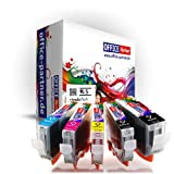 5x schwarz kompatible Druckerpatronen zu CANON PGI-5 mit Chip für Canon PIXMA MP500 / MP510 / MP520 / MP530 / MP600 / MP600R / MP610 / MP800 / MP800R / MP810 / MP830 / MP960 / MP970 / MX700 / MX850 ; Ip3300 / Ip4200 / Ip4200x / Ip4300 / Ip4500 / Ip4500x / Ip5200 / Ip5200r / Ip5300 /Ip6600 / iP6600D