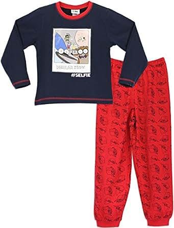 regular show ensemble de pyjama personnage manches longues gar on multicolore bigarr 11. Black Bedroom Furniture Sets. Home Design Ideas