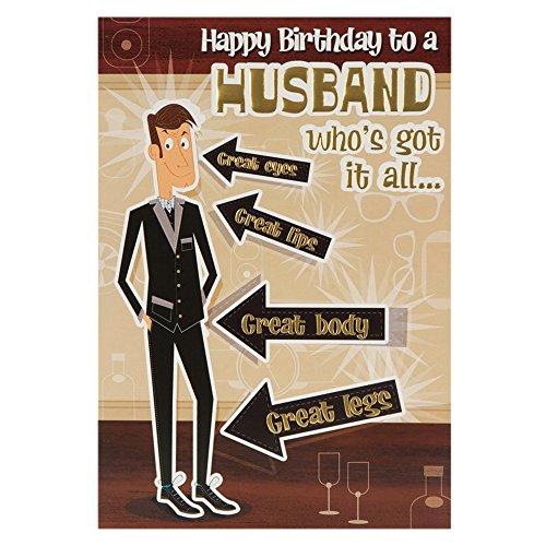 Hallmark Birthday Card For Husband Funny Pop Up