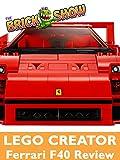 Review: Lego Creator Ferrari F40 Review [OV]