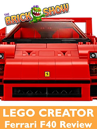 Review: Lego Creator Ferrari F40 Review [OV]