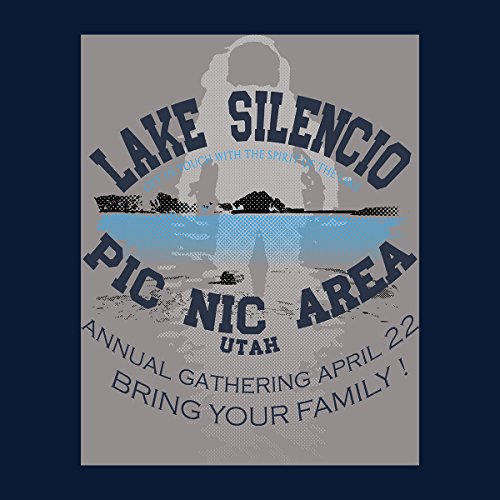 Lake Silencio Pic Nic Area Doctor Who Men's Vest Navy Blue