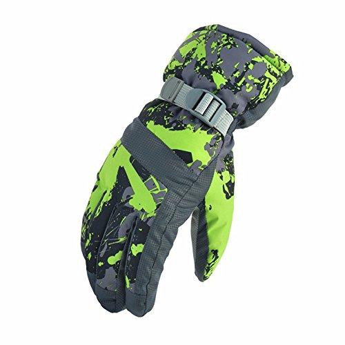 Coupe-vent imperméable respirant extérieur ski rembourré Gants hiver gants chauds