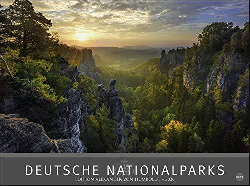 Deutsche Nationalparks - Edition Alexander von Humboldt  2020 78x58cm - Partnerlink