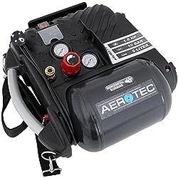 Aerotec Kompressor Airliner 5 Go, leistungsstarker Druckluft-Kompressor, ölfreier Kolbenkompressor mit 10-bar Kesseldruck, Art.-Nr. 200680.0