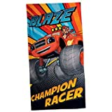 Blaze Champion Racer, asciugamano da bagno o da spiaggia (140 x 70 cm)