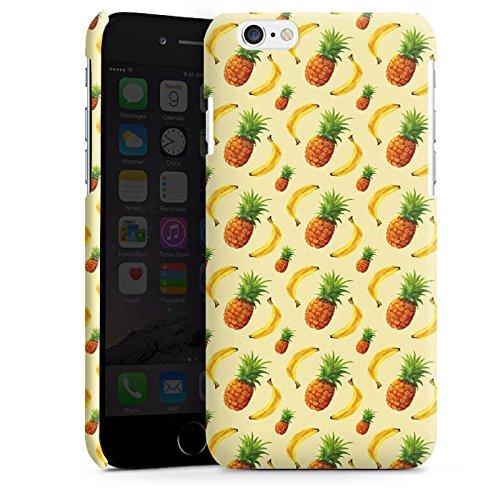 Apple iPhone 4 Housse Étui Silicone Coque Protection Ananas Banane Été Cas Premium brillant