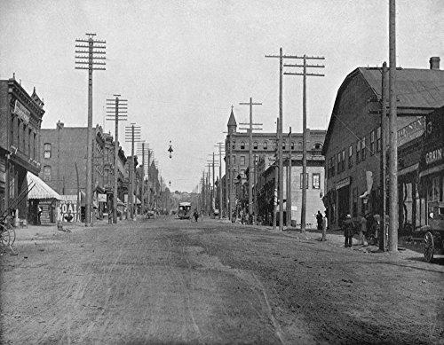 The Poster Corp Montana: Main Street C1890. /Nmain Street In Butte Montana. Photograph C1890. Kunstdruck (45,72 x 60,96 cm) -