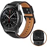 MroTech Bracelet Gear S3 Frontier Compatible avec Samsung Galaxy Watch 46mm Bracelet...