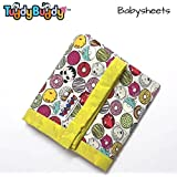 TuddyBuddy: Bedding Sheet Cum Top Sheets for Baby | Dohar for Kids | Ideal for 0-3 Yrs Kids. Swaddle Blanket, AC Blanket, Baby Wrapper, Quick Dry Swaddle Wrap. 100% Cotton | 130X130 Cms (Donut Panda)