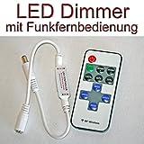 LED Dimmer 5 - 24 Volt DC 6A mit Funk Fernbedienung