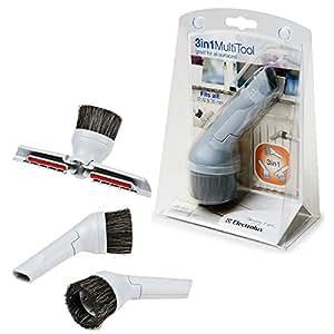electrolux ze063 accessoires aspirateur 3 en 1 brosse suceur plat suceur triangulaire. Black Bedroom Furniture Sets. Home Design Ideas