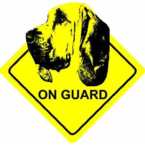 Bloodhound Dog - Home / Car Sticker / Cane Auto Adesivi Sign