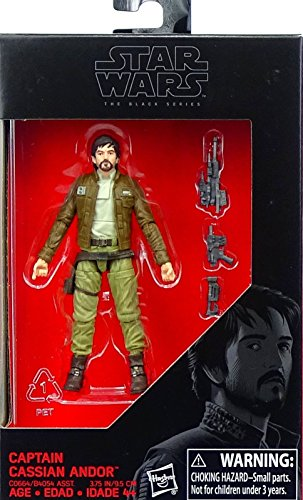 Rogue One Captain Cassian Andor Exclusive Figur 3,75 Inch Star Wars The Black Series Hasbro