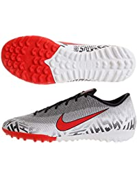 best service a973d 63904 Nike Men s Mercurial Vapor XII Academy Neymar TF-White Black Challenge Red