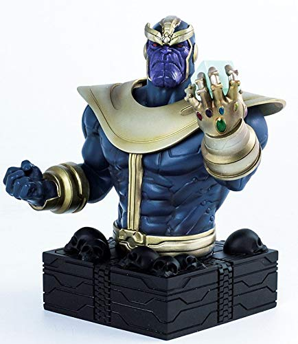 Semic Studios Thanos Busto Resina Marvel, Color (SEM00SMB003