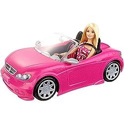 Barbie - Convertible y la muñeca Paquete (Mattel DJR55)