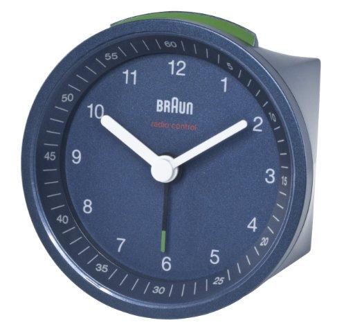 braun-uk-radio-reveil-radiopilote-bleu