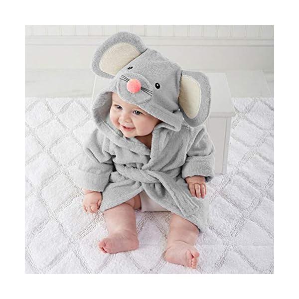 Pijama de dibujos animados para bebé (gris) small gris 1