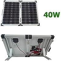 Kit panel solar portátil 40W 12V